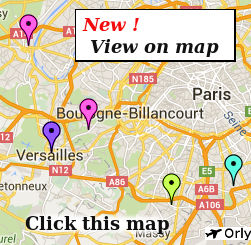 this page of the ihi france independent hotel guide lists only small hotels close to paris with on site or nearby parking for vehicles and located close